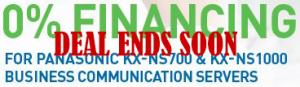 Panasonic 0% Financing